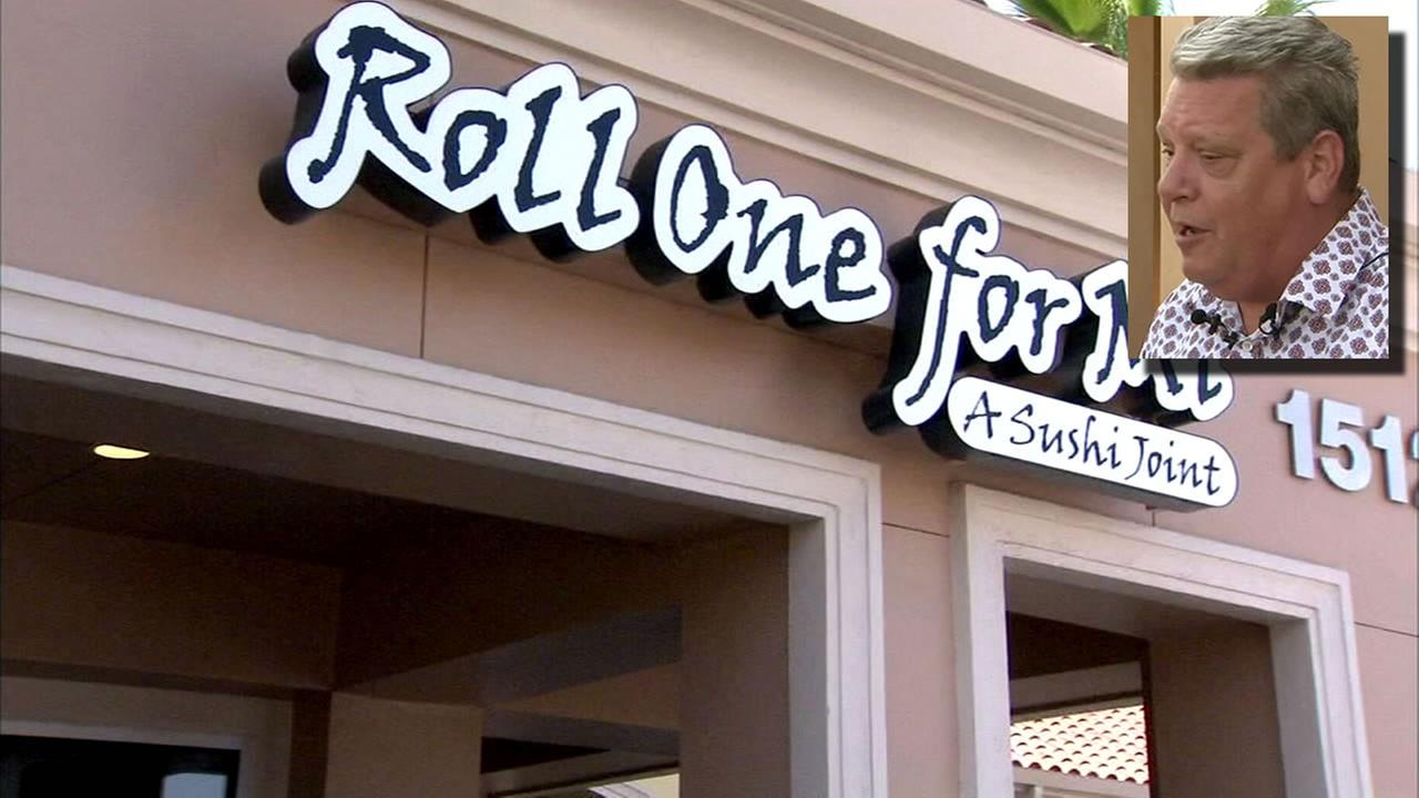 The Roll One for Mi restaurant in Fresno, Calif. is seen in this undated image.
