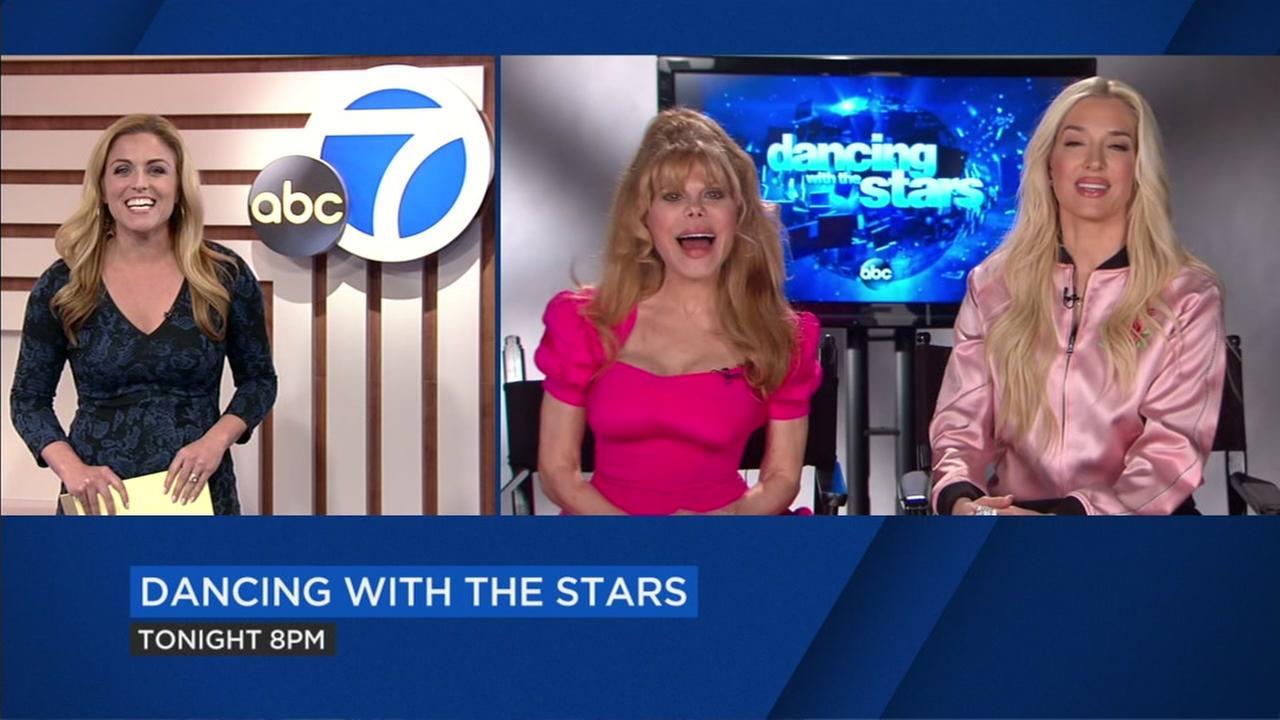 Charo, Erika Jayne talk ahead of DWTS premiere