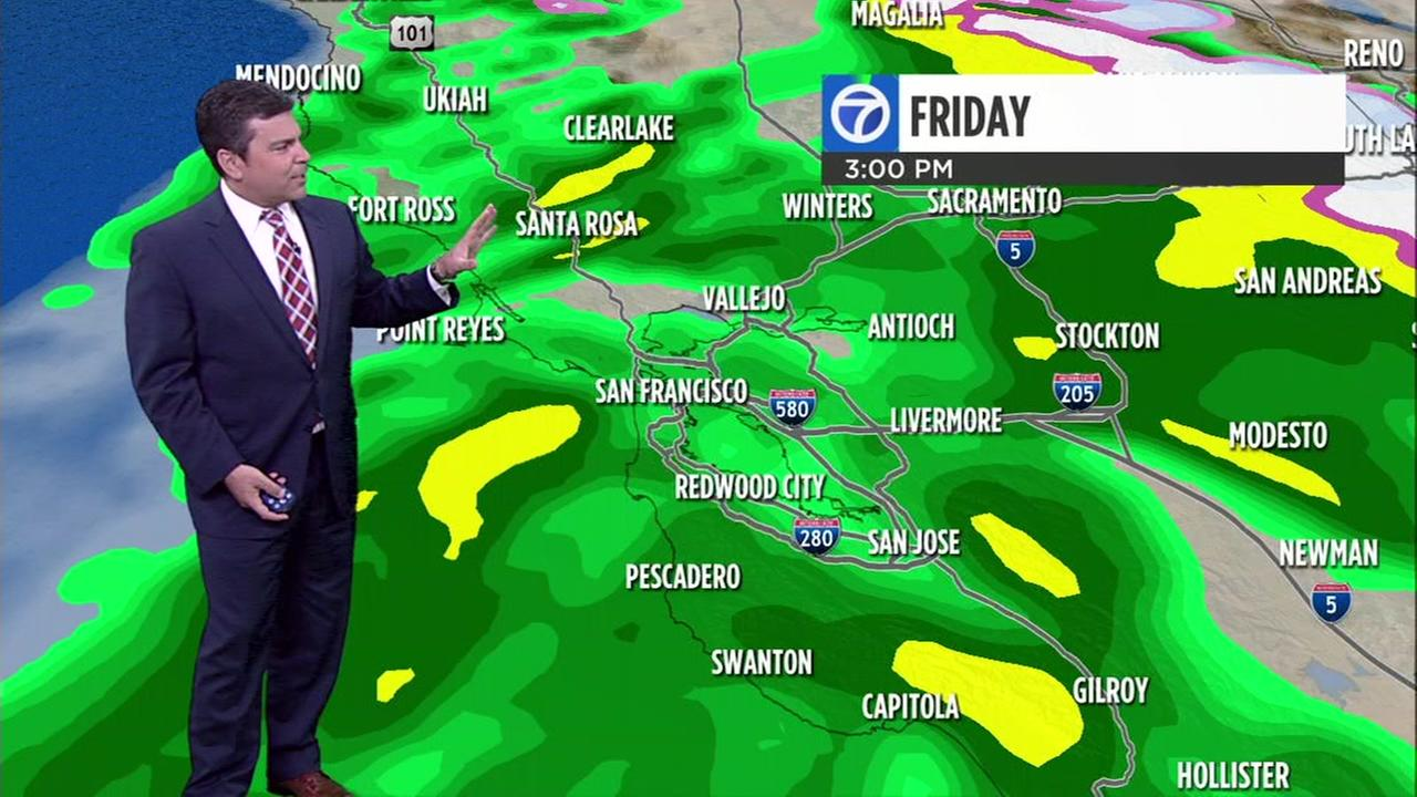 ABC7 News Weather forecast for Friday