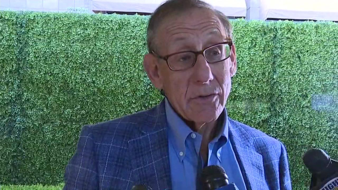 Miami Dolphins owner Stephen Ross is interviewed by ABC7 News on March, 27, 2017.