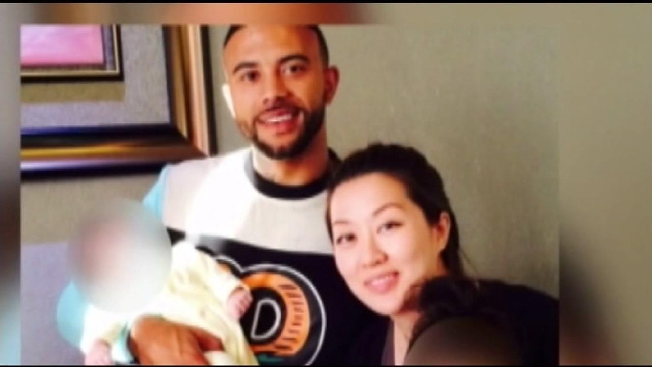 This is an undated image of Victoria Li and her ex-boyfriend Keith Green, who she is accused of killing.