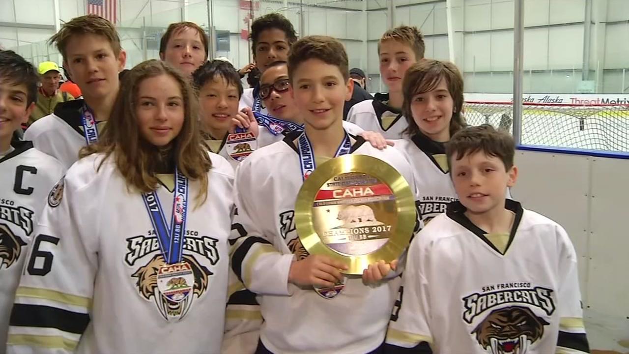 Bay Area youth hockey championship held in San Jose Sunday