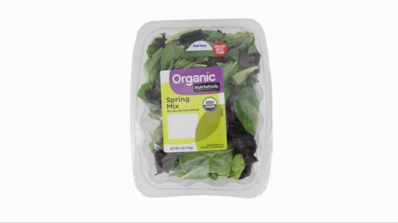 Dead bat prompts salad recall