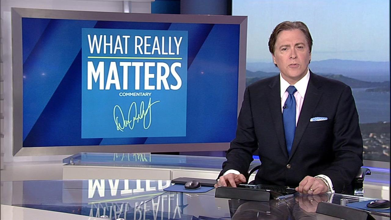 Dan Ashley delivers his What Really Matters commentary on Friday, April 14, 2017.