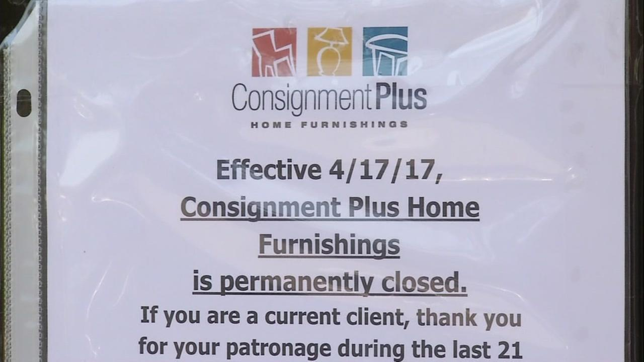 Only on ABC7News.com: Walnut Creek consignment store closes without playing customers