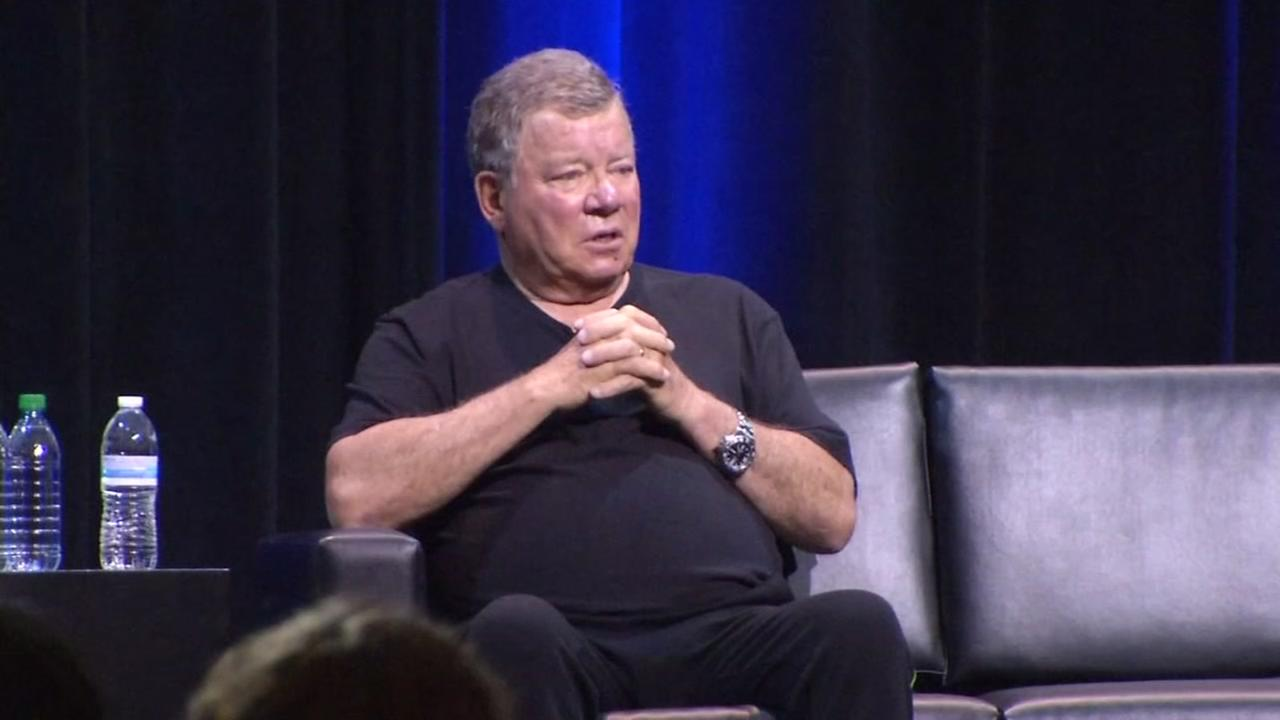 William Shatner appears at Silicon Valley Comic Con on Friday, April 21, 2017.