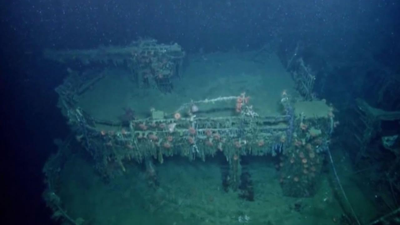 Relics of a nearly forgotten World War II battle are being explored at the bottom of the sea -- not far from Mississippi.