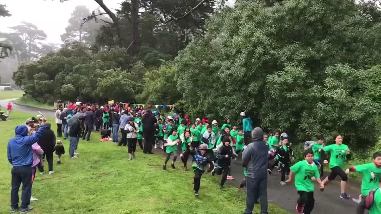 San Francisco school district holds annual 5K run
