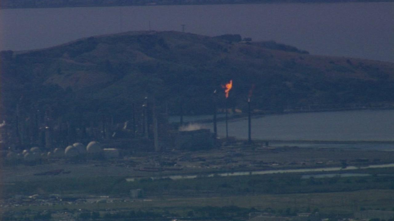Equipment failure causes flaring at Richmond Chevron refinery