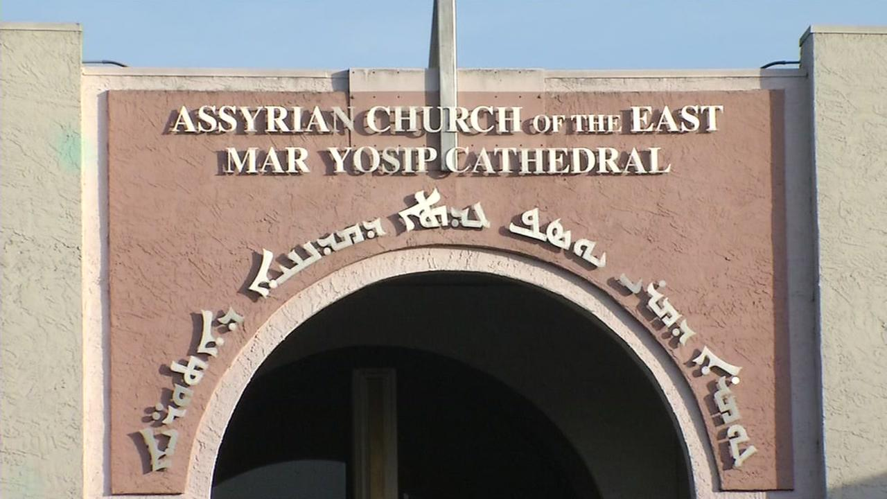 The Assyrian Church of the East is seen on Sunday, May 7, 2017.