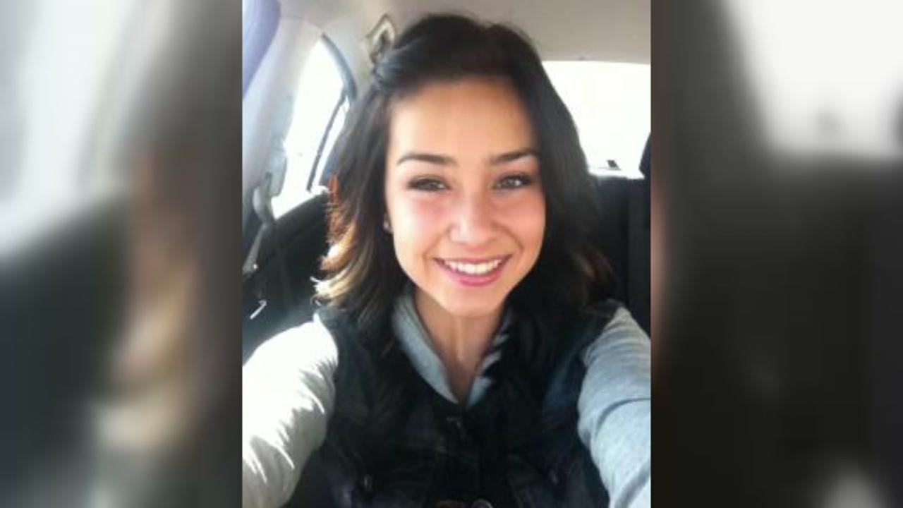 This photo is of Morgan Hill teen Sierra LaMar.