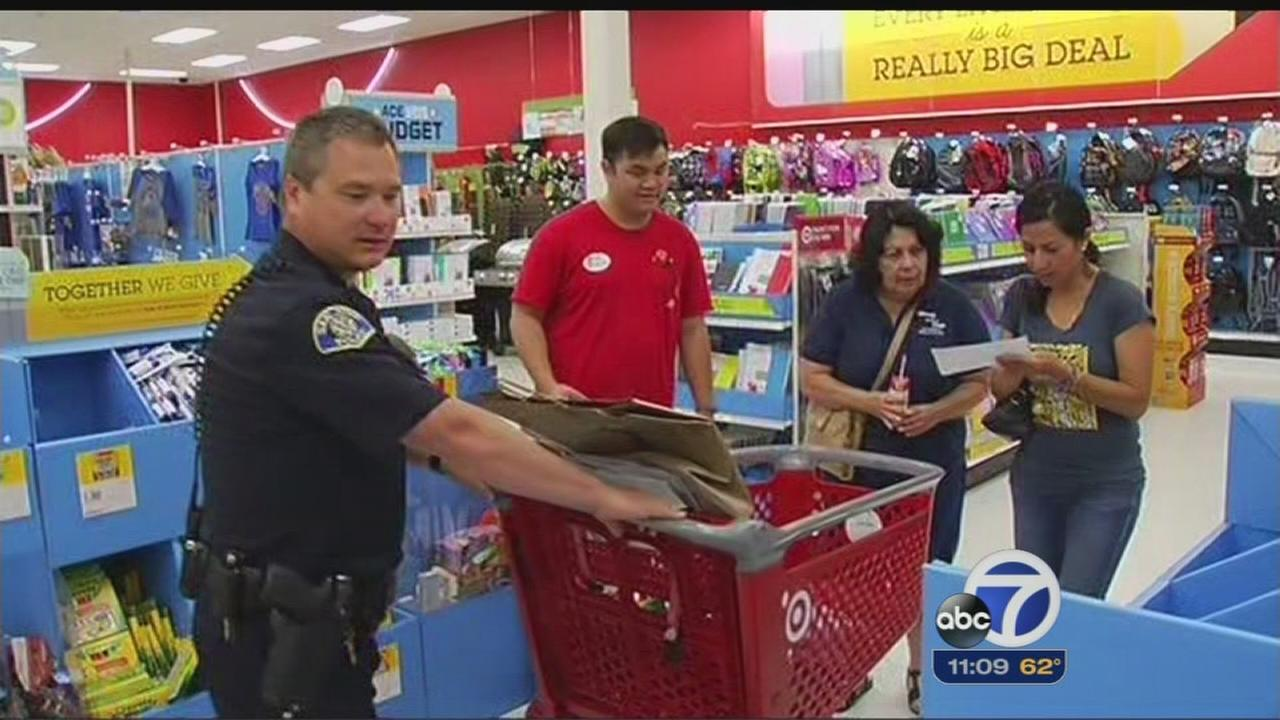 Shop with a Cop helping Silicon Valley youth, families