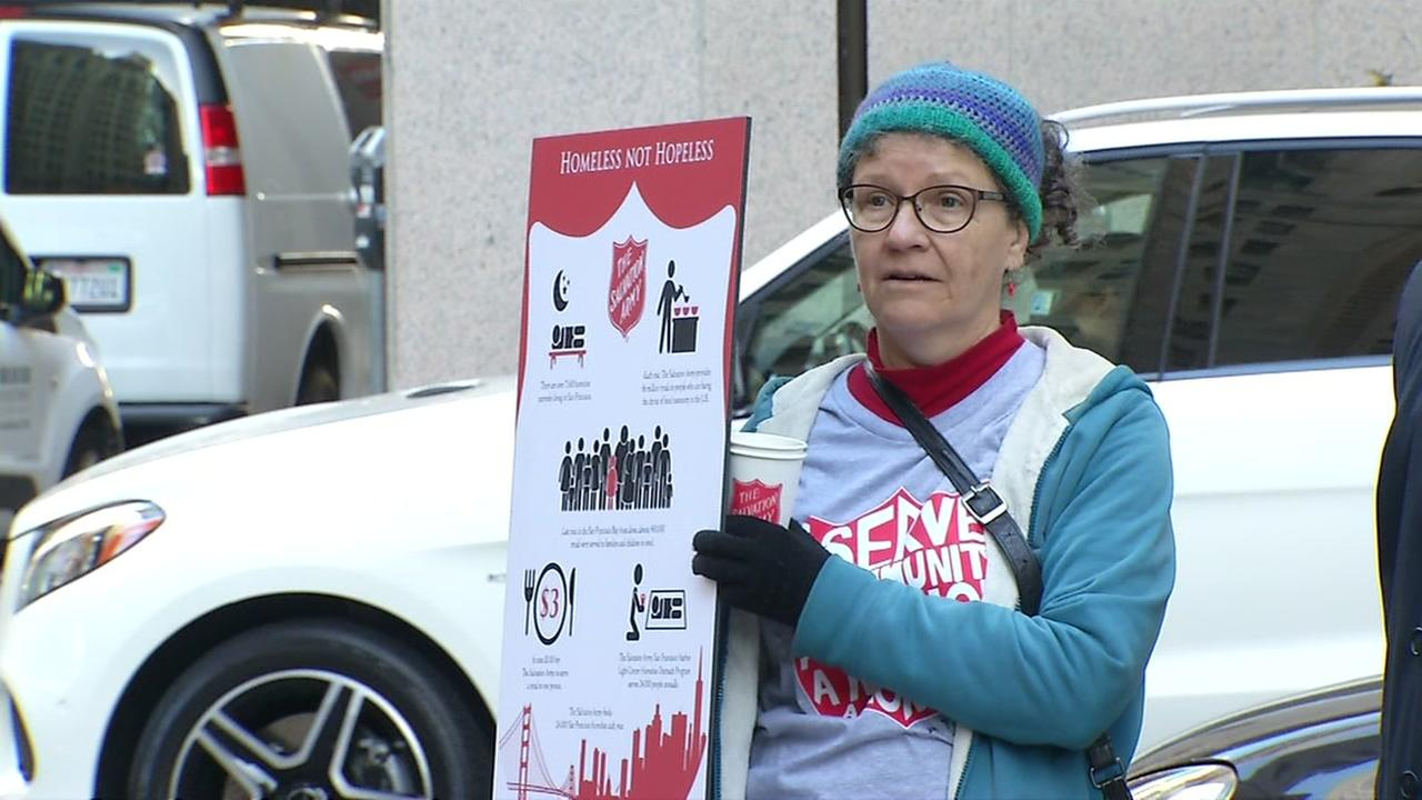 National Salvation Army week celebrated in San Francisco