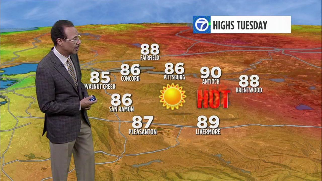 Watch your AccuWeather forecast for Tuesday morning