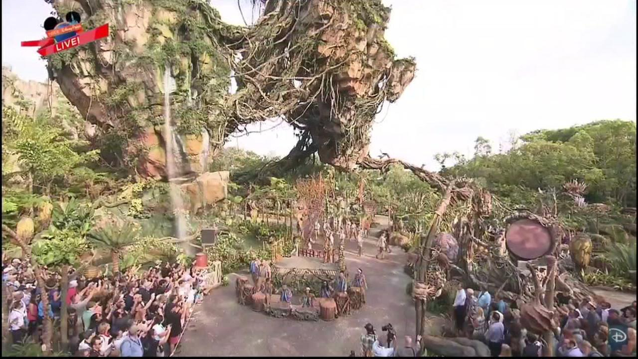 Disney World in Florida live streams dedication of Pandora- The World of Avatar