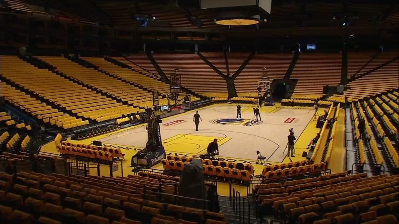 Oracle Arena in Oakland, California, Thursday, June 1, 2017.