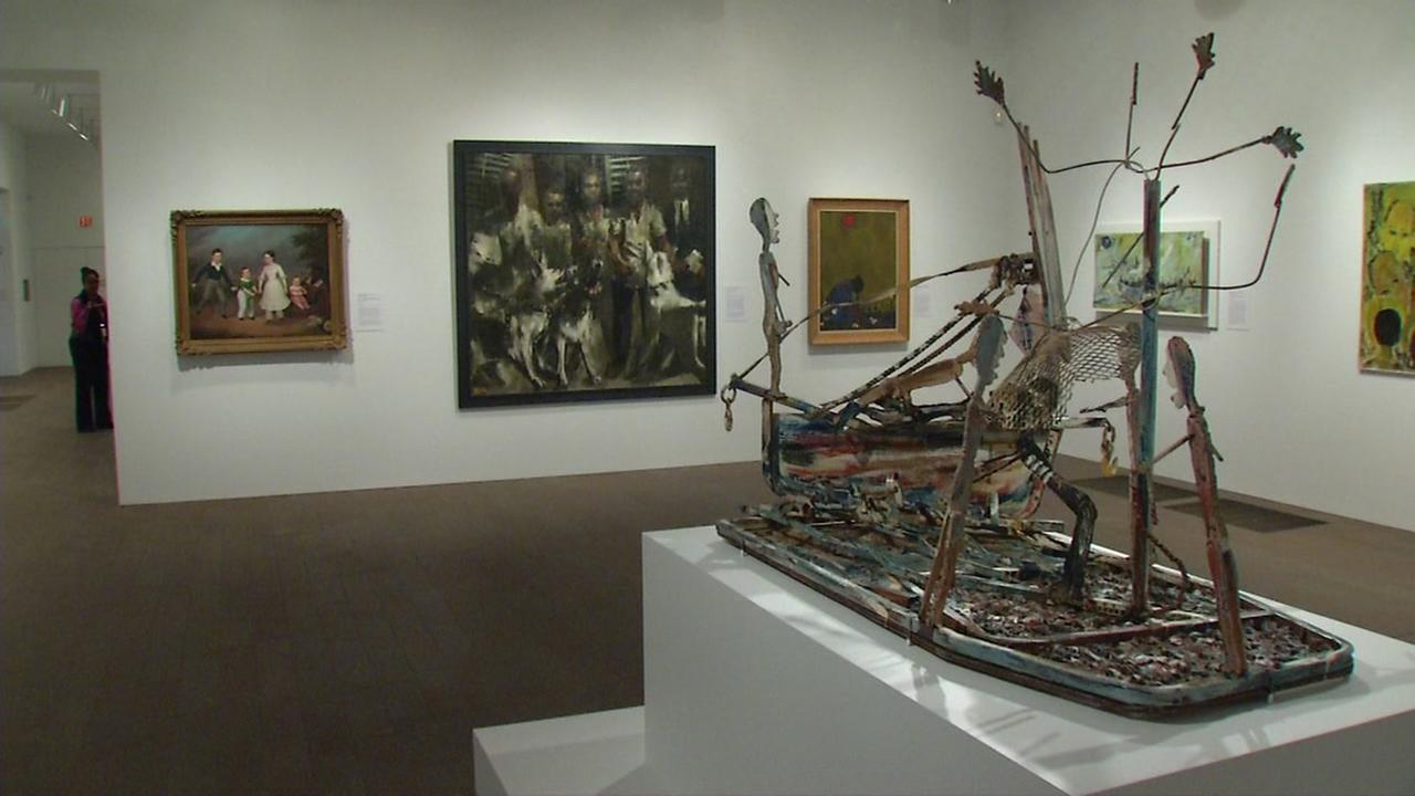 African-American art exhibit on display at The De Young Museum in SF