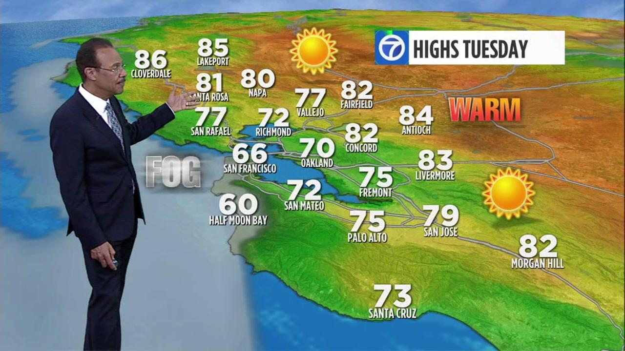 Live Doppler 7 Hd Bay Area Weather News Abc7news Com