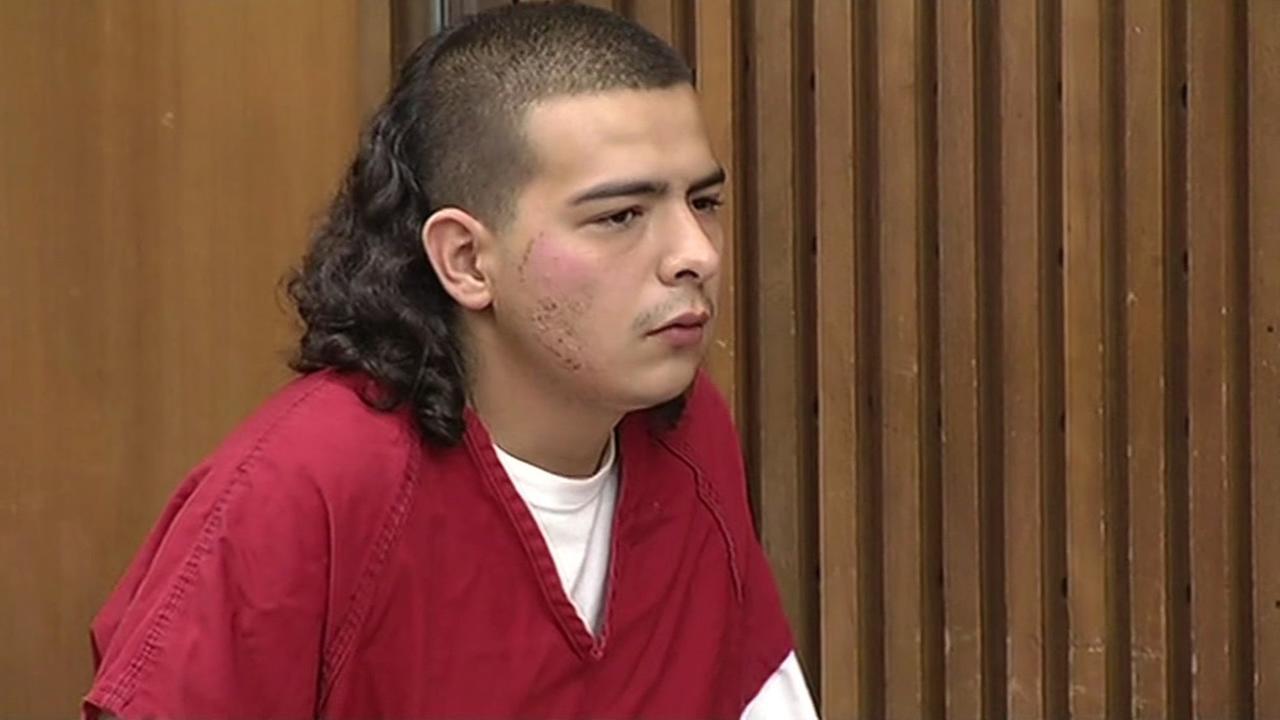 Bank robbery suspect Jaime Ramos