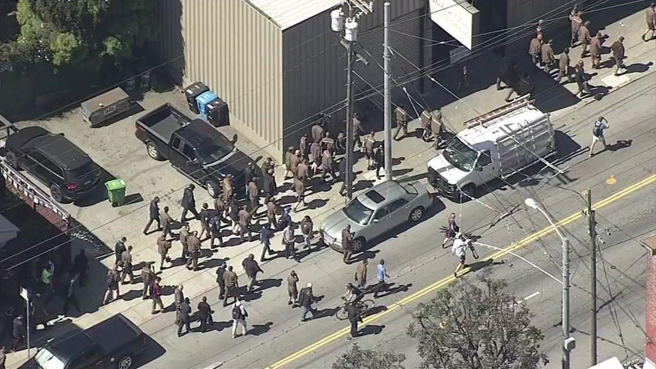 4 killed, including gunman, in shooting at UPS facility in San Francisco