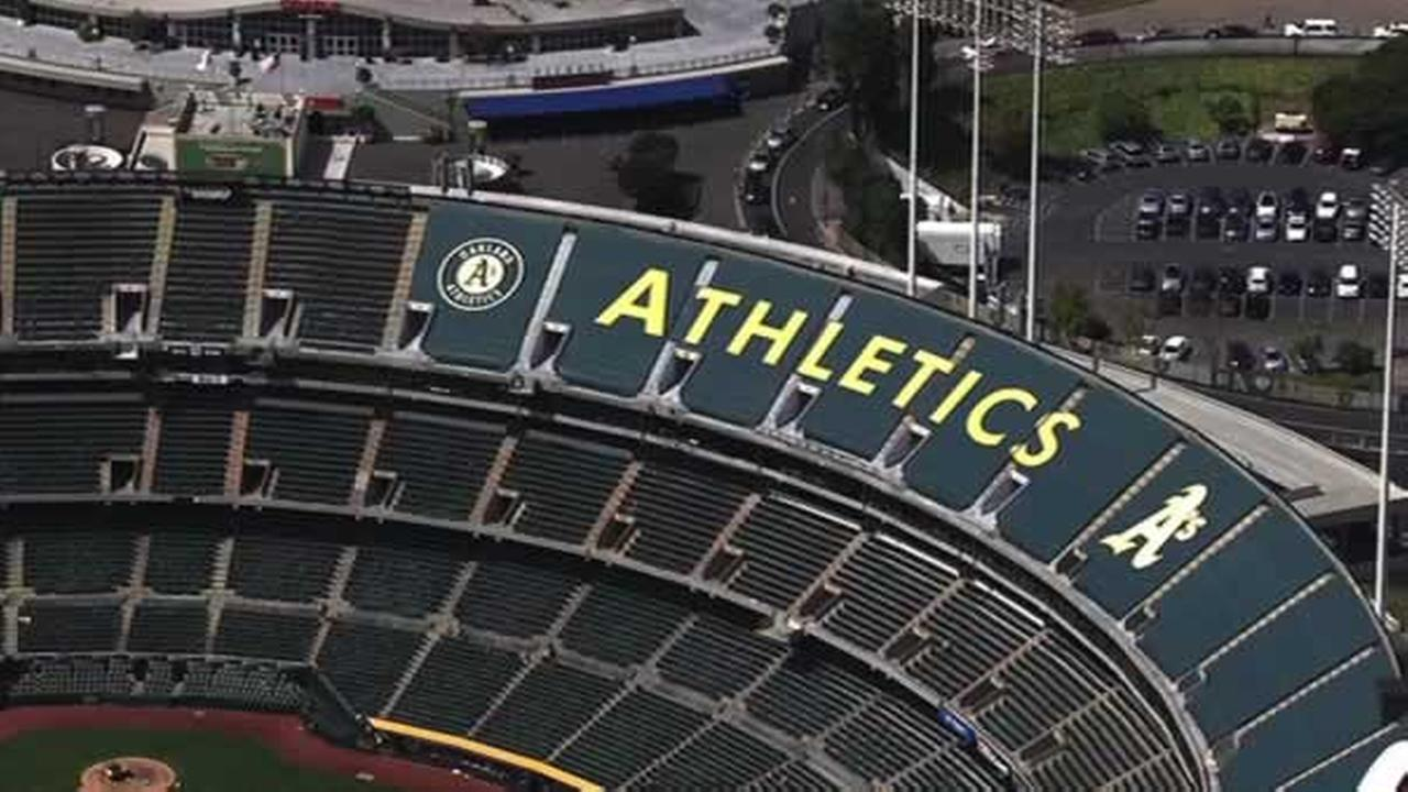 The Athletics say they have agreed to a 10-year lease extension to keep the team playing at O.co Coliseum.