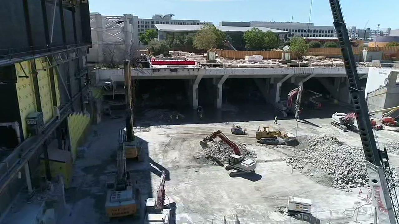 Moscone South development underway in San Francisco