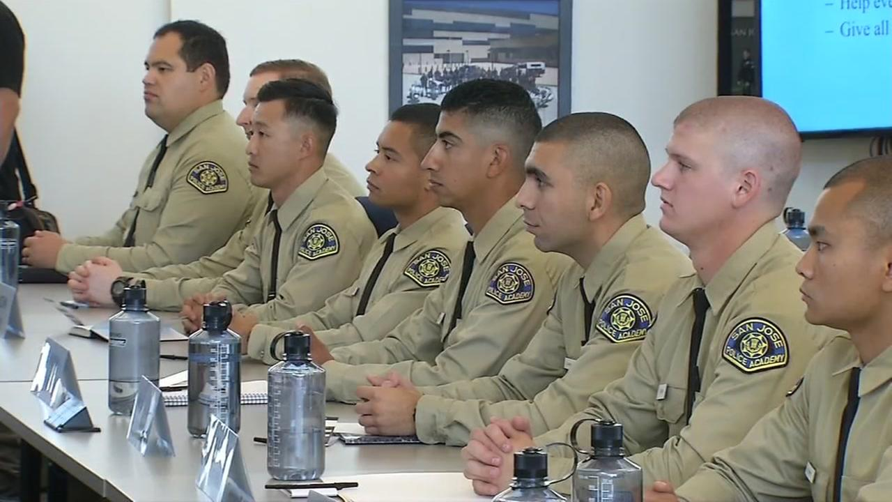 San Jose Police Department welcomes class of new recruits