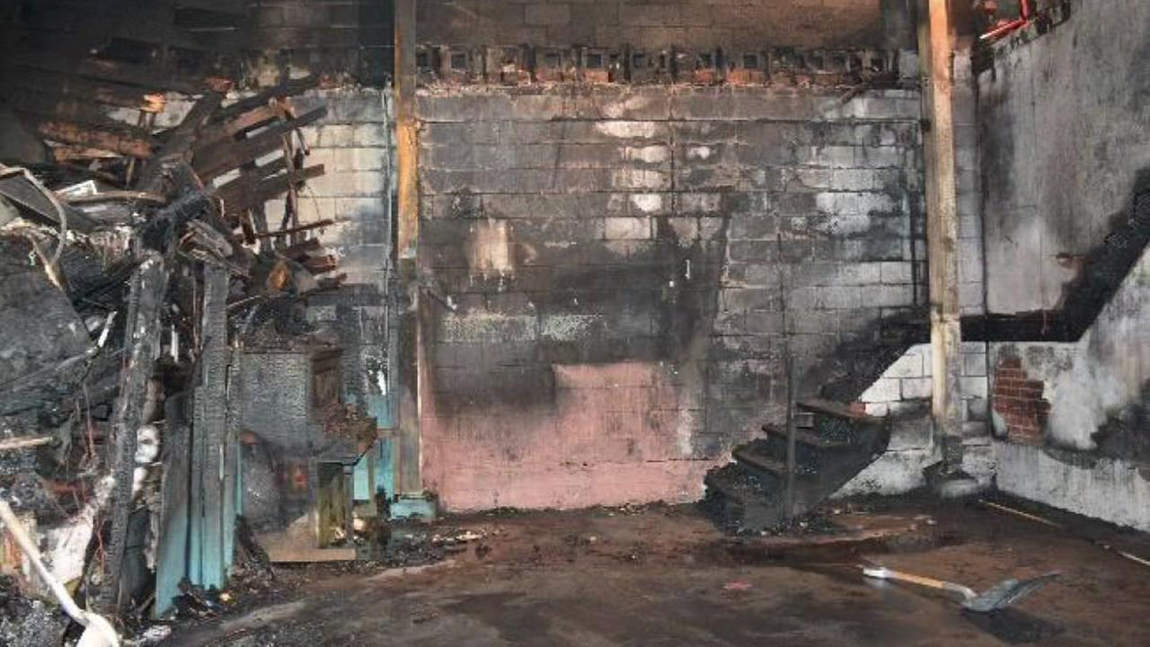This photo of the interior of the Oakland, Calif. Ghost Ship warehouse following a deadly fire was released on Monday, June 19, 2017.