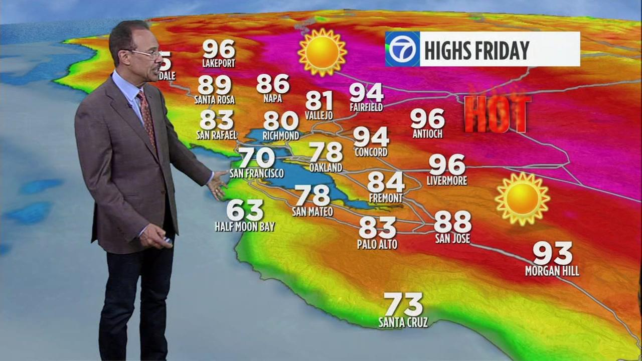 Weather Anchor Spencer Christian has your Bay Area AccuWeather Forecast for Thursday, June 22, 2017.