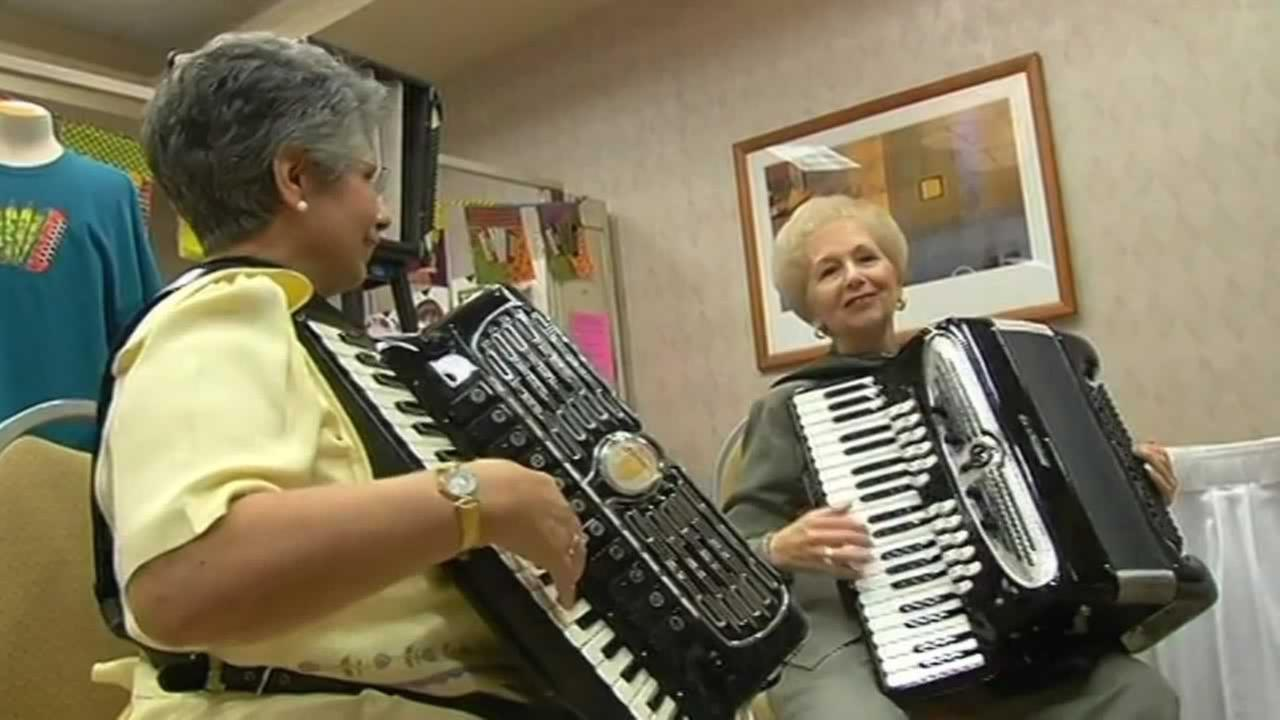 The sound of music filled a Burlingame hotel in Thursday and not just any music -- accordions.