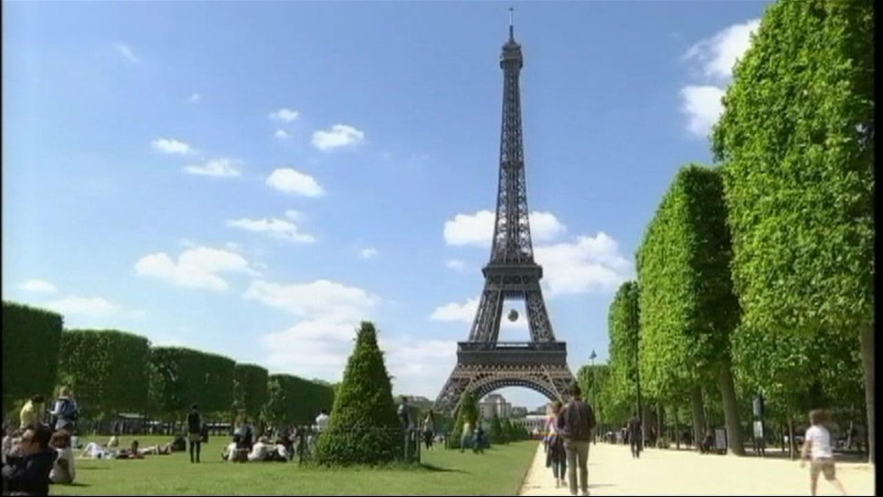 FILE -- Eiffel Tower in Paris France