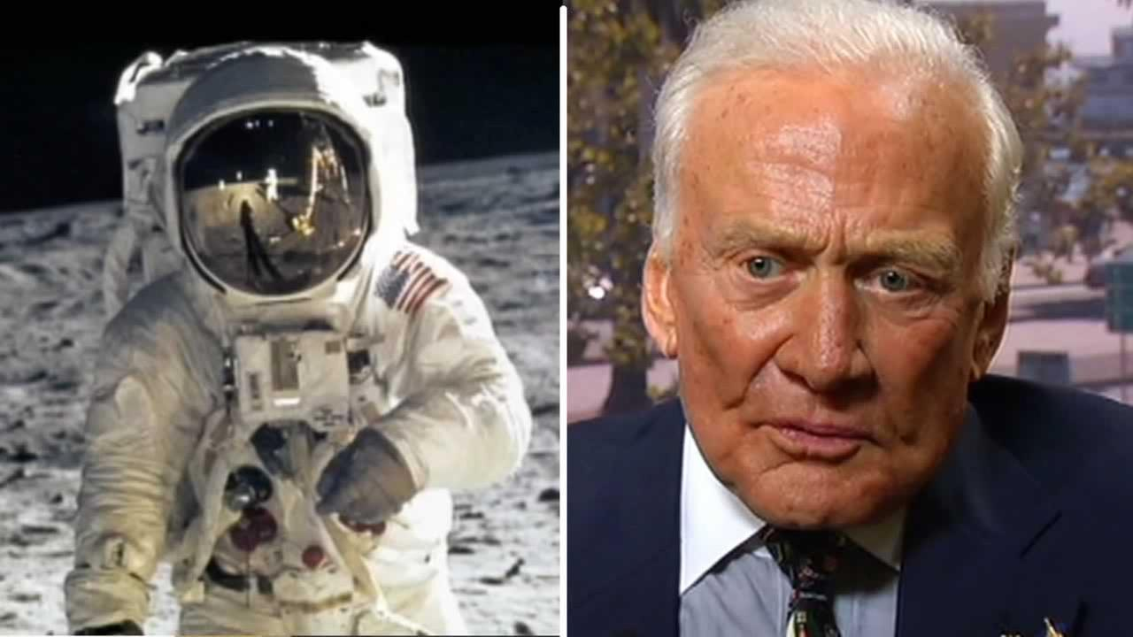 In an exclusive interview with ABC7 News, astronaut Buzz Aldrin admits that he peed on the moon in 1969.