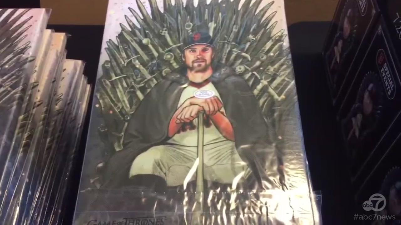 VIDEO: Giants bring epic Game of Thrones night to SF