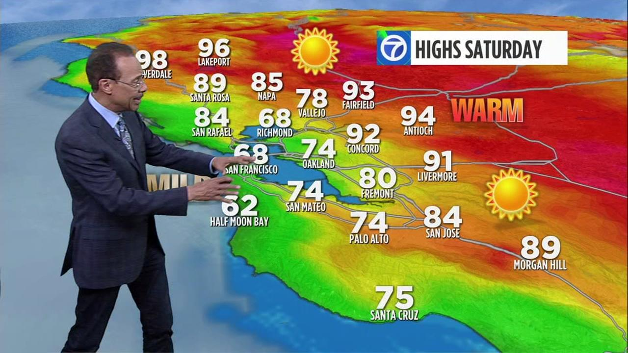 Watch your AccuWeather forecast for Saturday morning