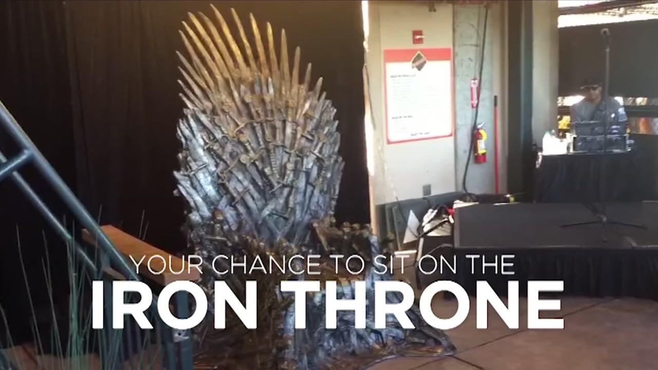 VIDEO: Game of Thrones experience comes to SF