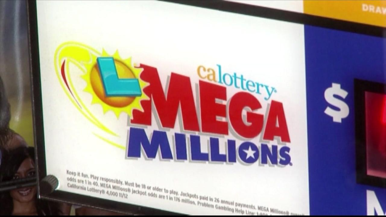 This is an undated image of a Mega Millions advertisement.