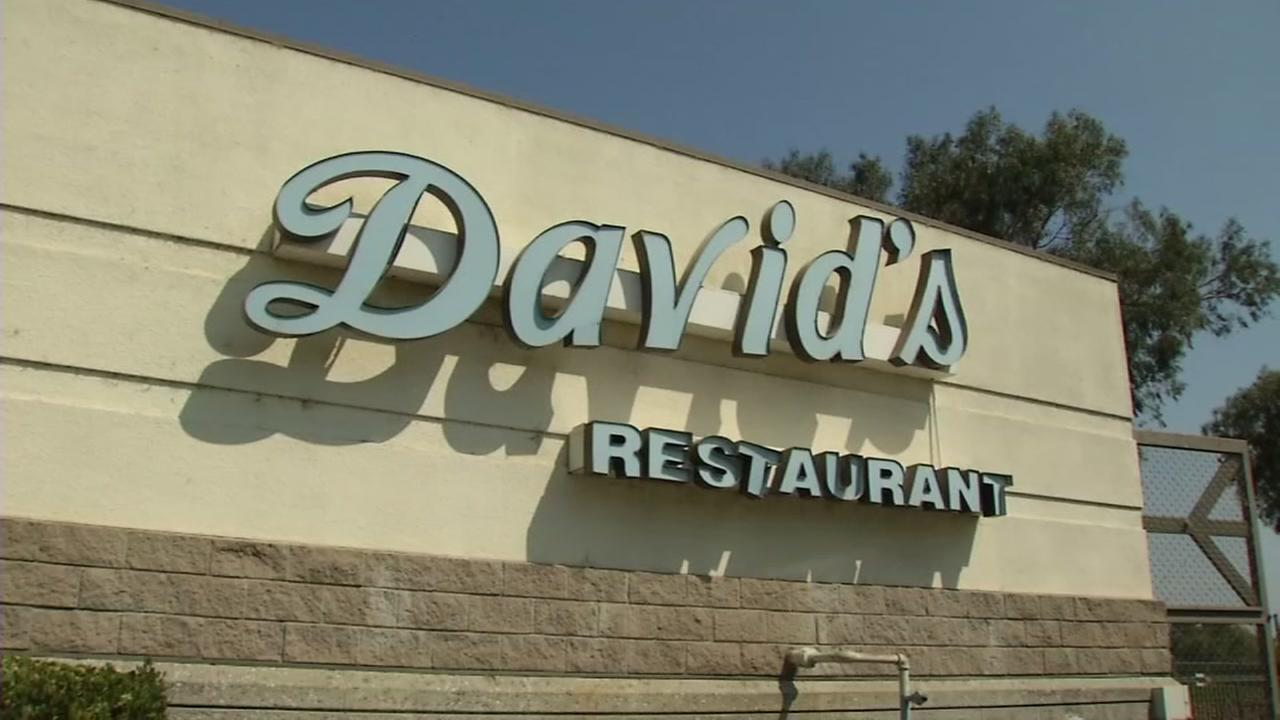 Davids Restaurant in Santa Clara, Calif. is seen in this undated image.