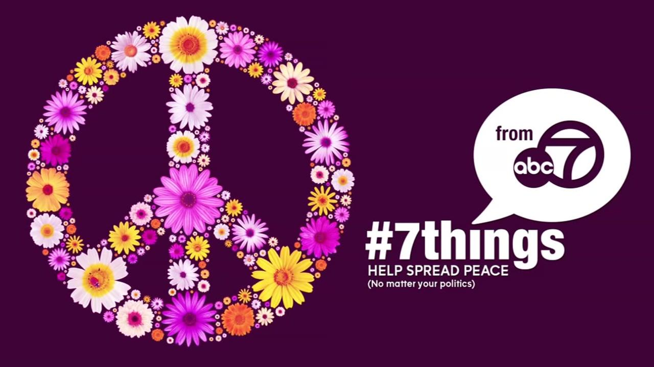 VIDEO: 7 ways to promote peace this weekend
