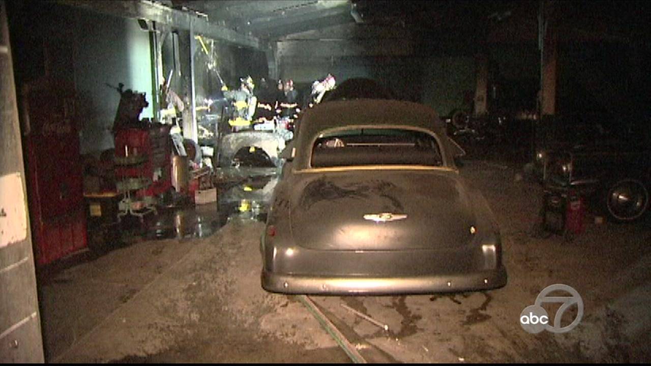 Classic cars destroyed in fire at San Francisco Bayview District ...