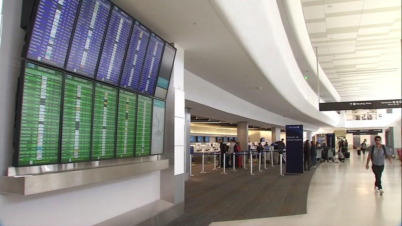 Florida residents visiting the Bay Area deal with flight delays, cancellations