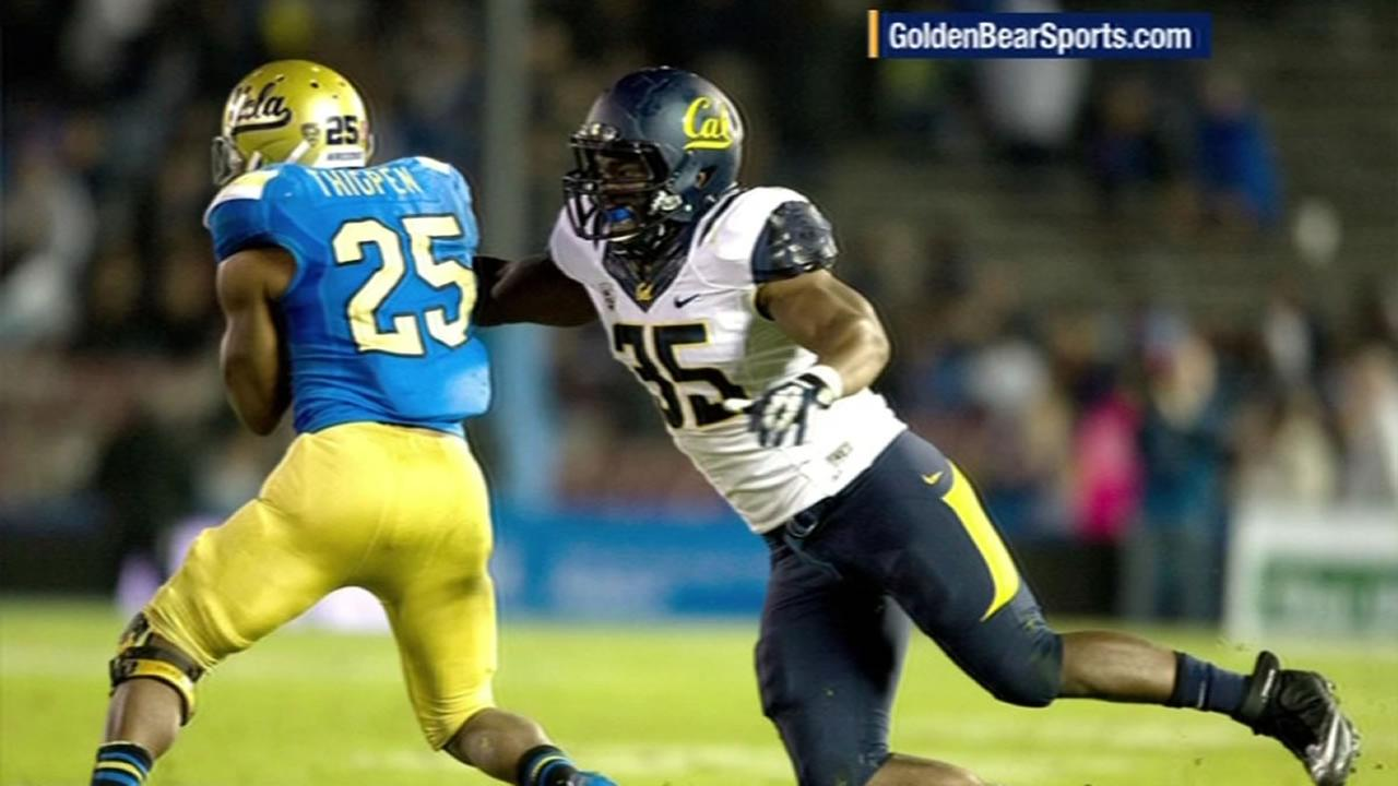 Twenty-one-year-old Cal football player Ted Agu died Feb. 7 after having trouble finishing a training run.