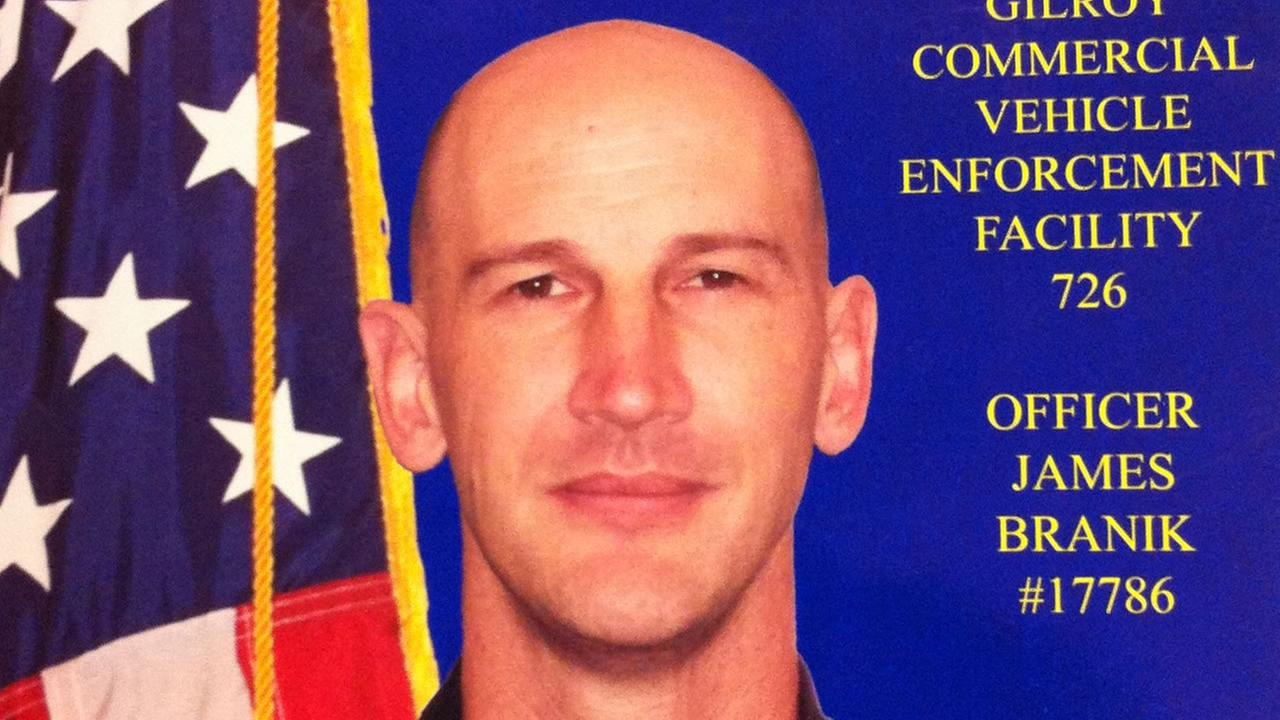 This is an undated image for CHP officer James Branik.