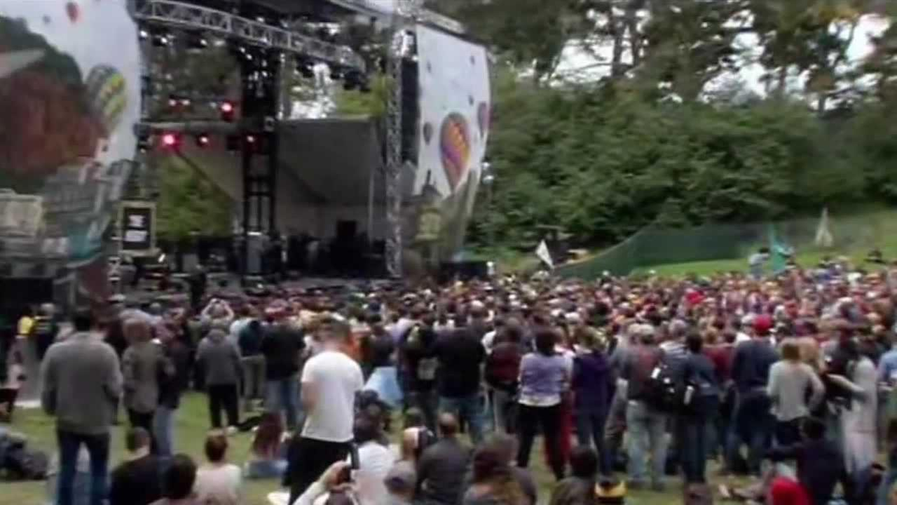Nearly 200,000 festival-goers are expected in Golden Gate Park this weekend for Outside Lands Music and Arts Festival.