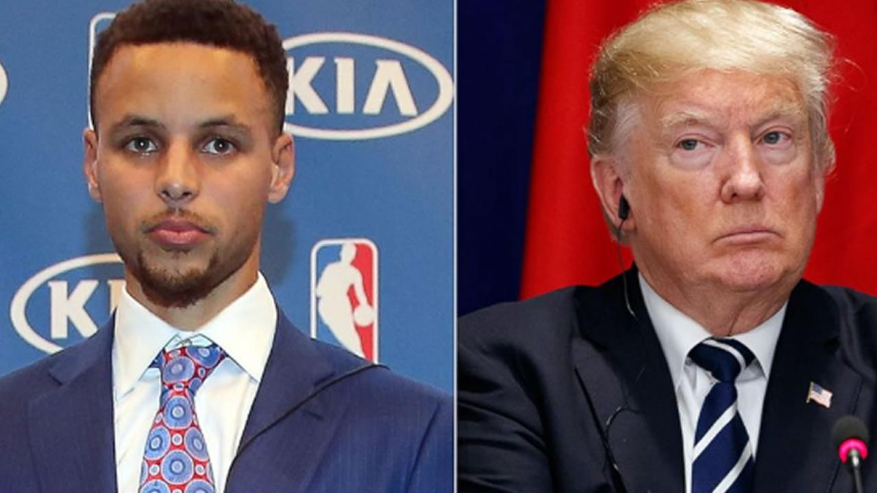 Trump responds to NBA star Stephen Curry, says invitation to White House is withdrawn