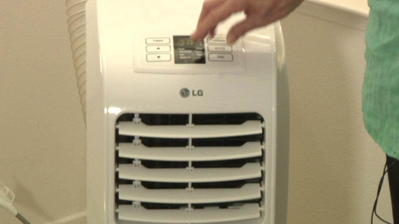 This is an undated image of an air conditioner.