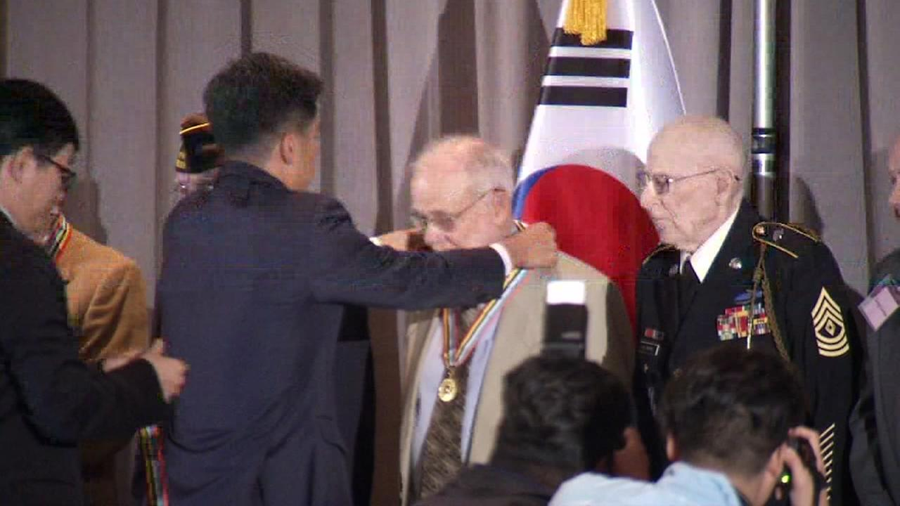 National Day of Korea event honors local veterans from the forgotten war