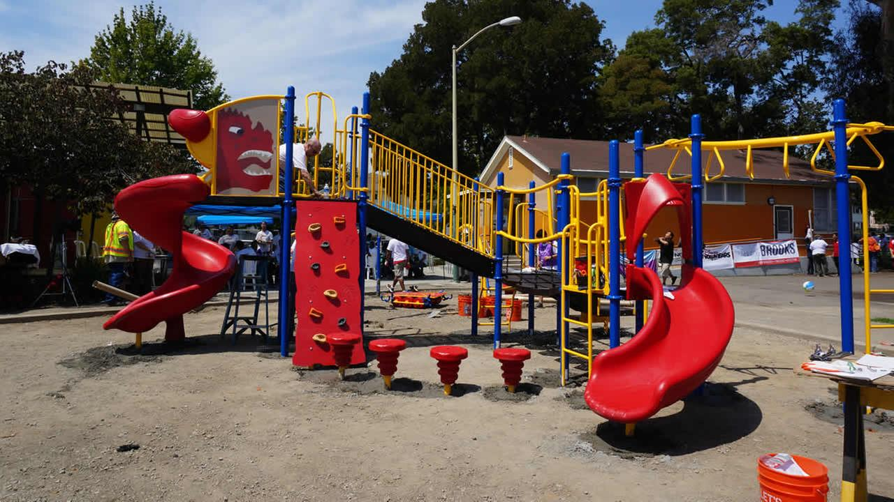 New East Oakland Playground