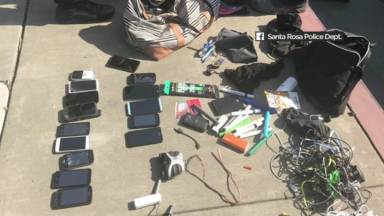 Santa Rosa police arrest looter near evacuation zone