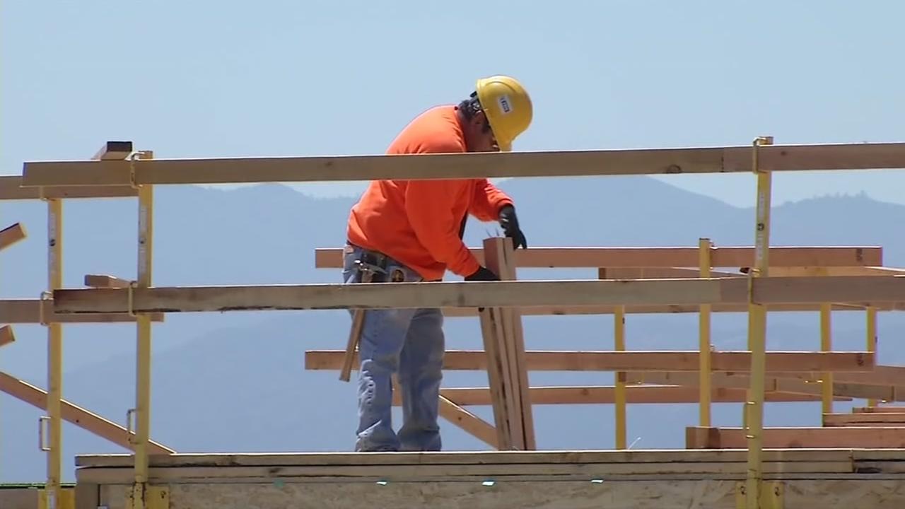 This is an undated image of a construction worker.