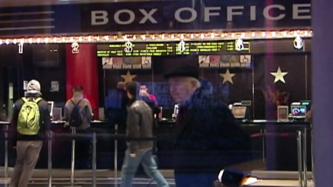 This is an undated image of a box office marquee.